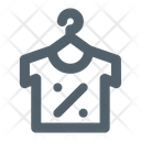 Discount Cloth Clothing Icon