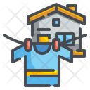 Laundry Clothes Line Icon