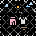 Clothes Line Fashion Icon
