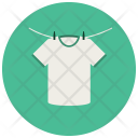 Hanging Clothes Dry Icon