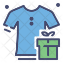 Clothes And Gift Box Icon
