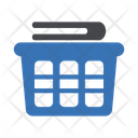 Folding Basket Clothes Icon