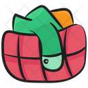 Clothes Bucket Washing Bucket Household Chores Icon