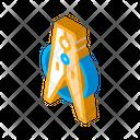 Laundry Peg Service Icon