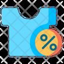 Clothes Discount Icon