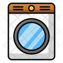 Clothes Dryer Washer Dryer Drying Machine Icon