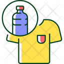 Clothes Recycle Plastic Icon