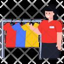 Clothes Rack Shirts Rack Shopping Rack Icon