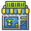 Clothes Shop Clothing Store Icon