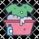 Clothes Wash Care Hand Icon