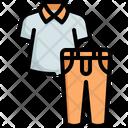 Clothing Shirt Pants Icon