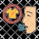 Clothing Allergy Textile Icon