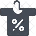 Clothing discounts Icon