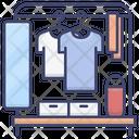Rack Dressing Mirror Icon