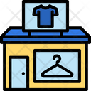 Clothing Shop Clothes Icon