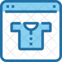 Online Store Clothing Icon