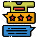 Cloth Feedback Star Icon