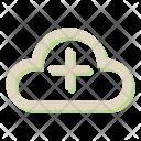 Cloud Weather Storage Icon