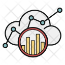 Cloud Chart Graph Icon