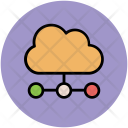 Cloud Computing Net Icon