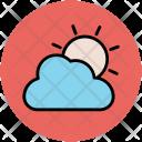 Cloud Sun Cloudy Icon