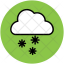 Cloud Snow Falling Icon