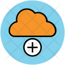 Cloud Add Sign Icon