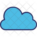 Cloud Forecast Puffy Cloud Icon