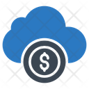 Cloud Dollar Currency Icon