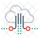 Cloud Data Review Icon