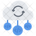 Cloud Open Repository Icon