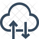 Cloud Download Storage Icon