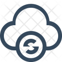 Cloud Refresh Reset Icon