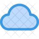Cloud Data Storage Weather Icon