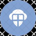 Cloud Shield Network Icon