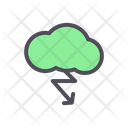 Cloud Thunder Natural Energy Icon