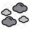 Cloud Weather Computing Icon