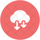 Cloud Download Computing Icon