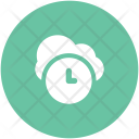 Cloud Network Clock Icon