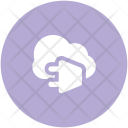 Cloud Computing Power Icon