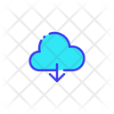 Cloud Online Storage Storage Icon