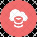 Cloud Database Hosting Icon