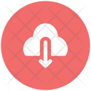 Cloud Download Downloading Icon