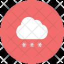 Cloud Decoration Raining Icon