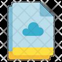 Multiple File Cloud Icon