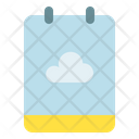 Note Cloud Backup Icon