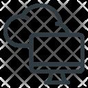 Cloud Computing Computer Icon