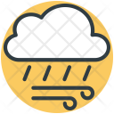 Cloud Rain Winds Icon