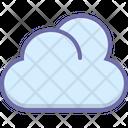 Cloud Data Storage Icon