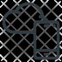 Cloud Phone Computing Icon